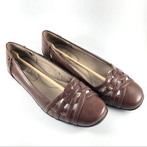 NEW Life Stride Brown Diverse Casual Flat Shoes